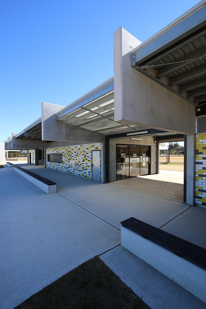 Chifley Reserve Amenities Building